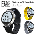 Genuine F69 Waterproof Smart Watch Heart Rate IP68 Swimming Intelligent Sport Hplus Smartwatch Wristband for IOS Android Phone