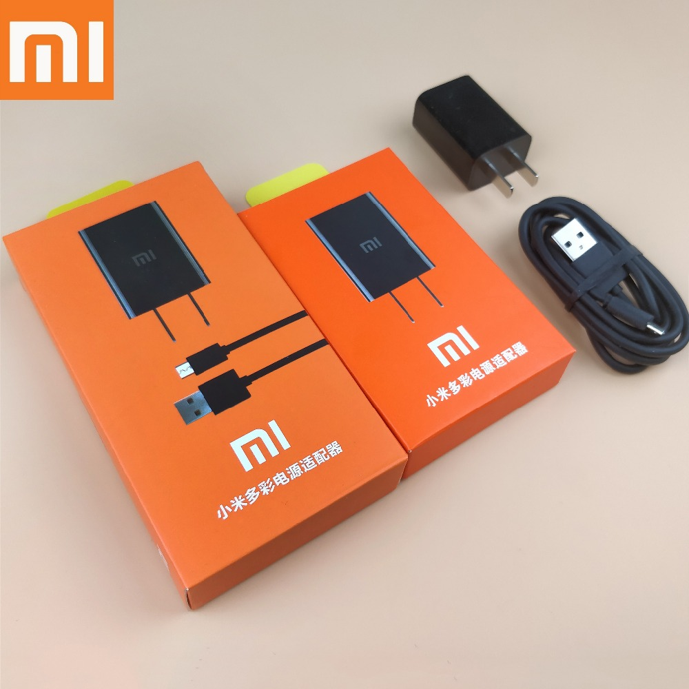 XIaomi Redmi note 5 pro Charger Original Wall 5v2a Charge Adapter + Micro Usb Cable for Redmi 4X 5 5a 5plus note 3 4 4x 4a 5 5a