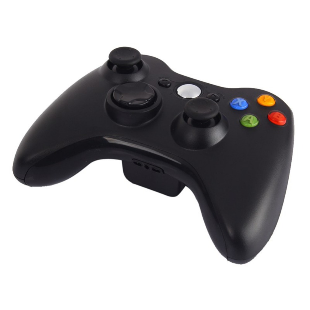 Game Gamepad 2.4G Wireless Gamepad For XBOX 360 Controller New Black And White Bluetooth Handle Joystick gamepad xbox wlc