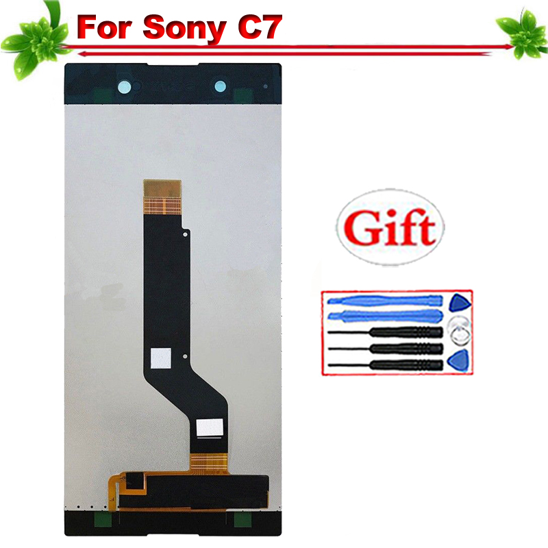 100% Tested for Sony Xperia XA1 C7 Ultra LCD Display Touch Screen Digitizer Full Assembly Replacement For Sony C7 LCD Display 6100% Tested for Sony Xperia XA1 C7 Ultra LCD Display Touch Screen Digitizer Full Assembly Replacement For Sony C7 LCD Display 6