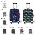 """Nova durável grosso elástico mala / bagagem mala de cobre fechamento com zíper esqueleto 18 """" - 30 """" bagagem"""