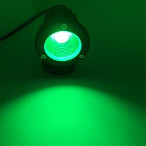 Image 5 - 10X Outdoor LED Gazon Verlichting Waterdichte COB Tuin Lamp 220V 110V 12V 3W 5W 7W 9W Spike Verlichting IP65 Vijver Path Landschap Lampen