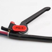 Cortador longitudinal da bainha do descascador PG 5 da fibra do revestimento do cabo da fibra ótica