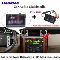 Liandlee Android для Land Rover Discovery 3 LR3 L319 2004 ~ 2009 радио Carplay парковка Камера ТВ BT gps Navi навигации мультимедиа