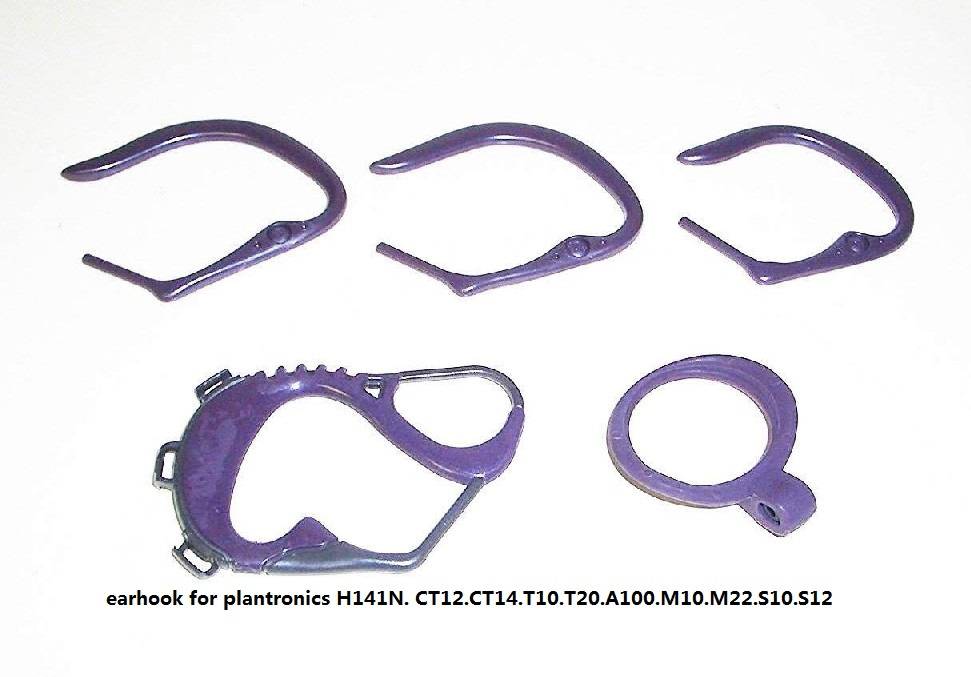 50sets. Earhooks For Plan.tronics H141n. Ct12.ct14.t10.t20.a100.m10.m22.s10.s12 Accessory.