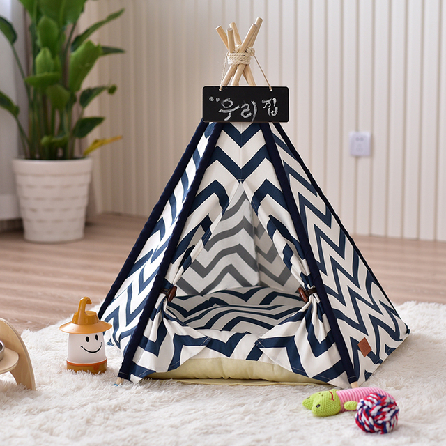 2017 New Product Pets Dog House Washable Foldable Pet Tent Puppy Cat Warm Soft Home Dogs Cats Bed Sleeping Bag