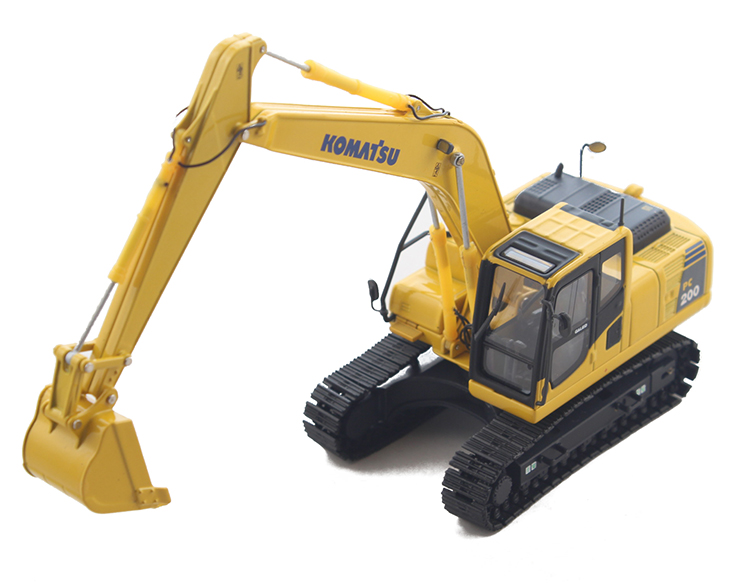 Komatsu 1:50 PC200 Alloy Excavator Model Engineering vehicle model Collection model