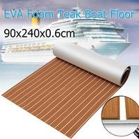 סיפון EVA קצף טיק חום + לבן רצועת דבק עצמי גיליון סירת יאכטה סינטטי הסיפון רצפת קצף חזק 3 M Gule