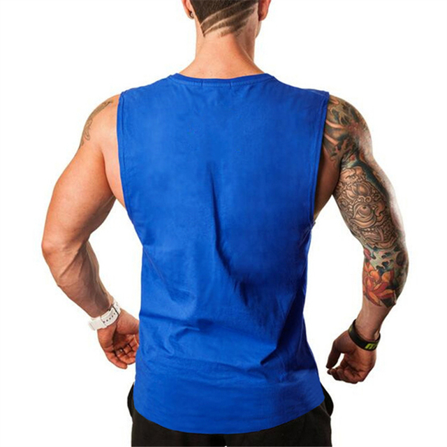 Cotton Workout Tank Top for Men