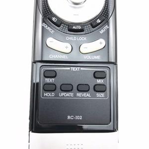 Image 5 - FOR sanyo PRIMA Xoceco LCD TV REMOTE CONTROL RC I02 RCI02 rc 102  RC I02 OB remote controller