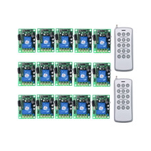 цена на 30A 1CH Wireless Remote Control Switch AC 220V 110V 85-265V Relay Output Radio RF Transmitter And 315/433 MHz Receiver