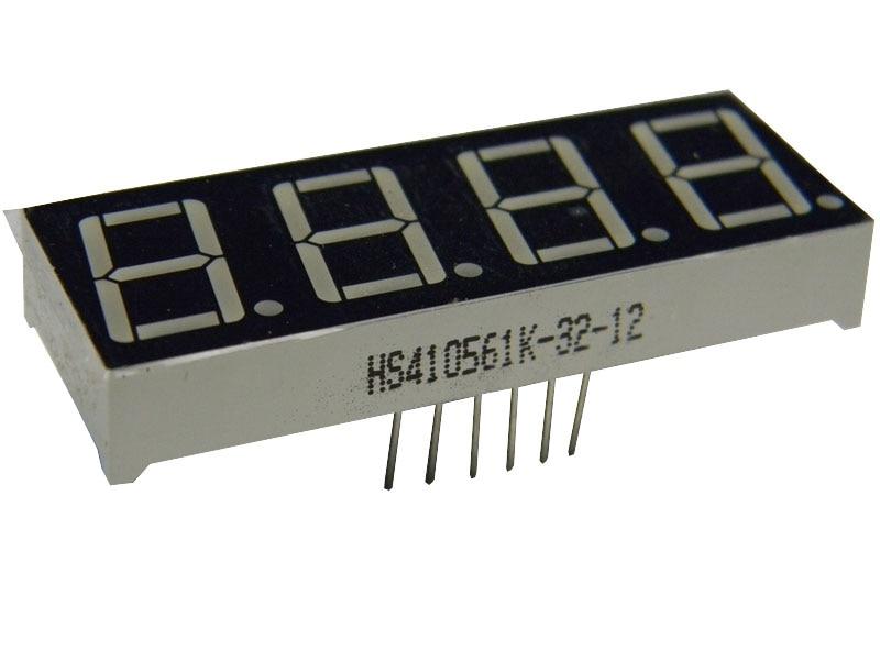 Glyduino 0.56'' Inch 4 Bit Common Cathode Digital Tube LED Display Module For Arduino