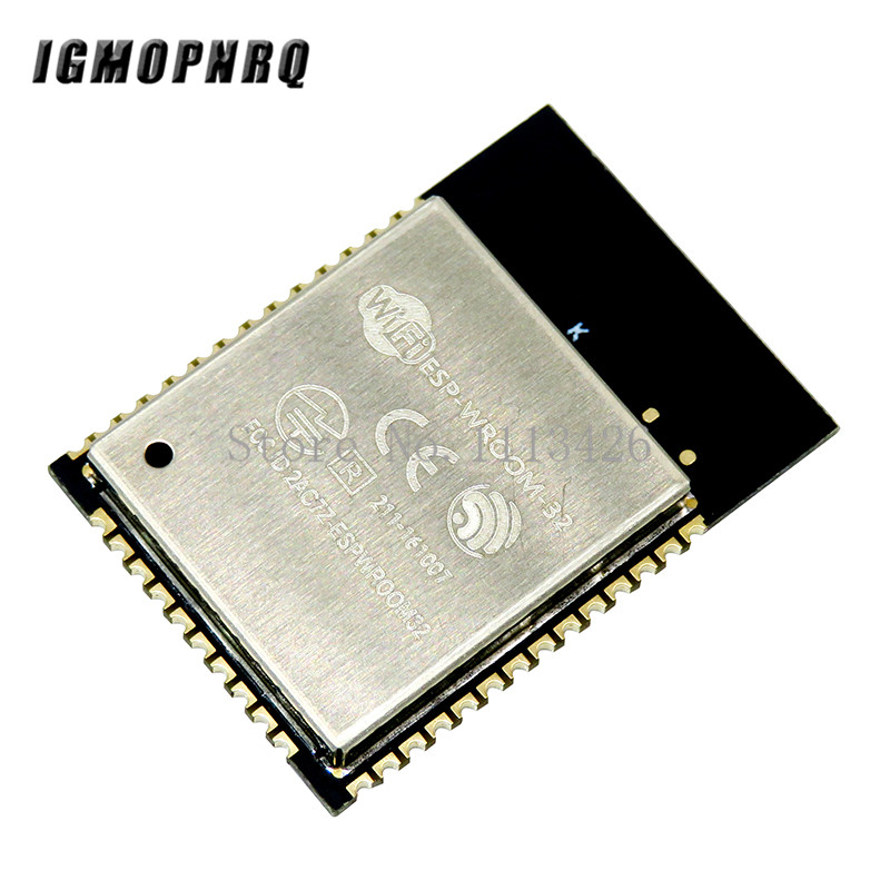 <font><b>10PCS</b></font>/LOT ESP-32S ESP-WROOM-32 <font><b>ESP32</b></font> ESP-32 Bluetooth and WIFI Dual Core CPU with Low Power Consumption MCU ESP-32 image