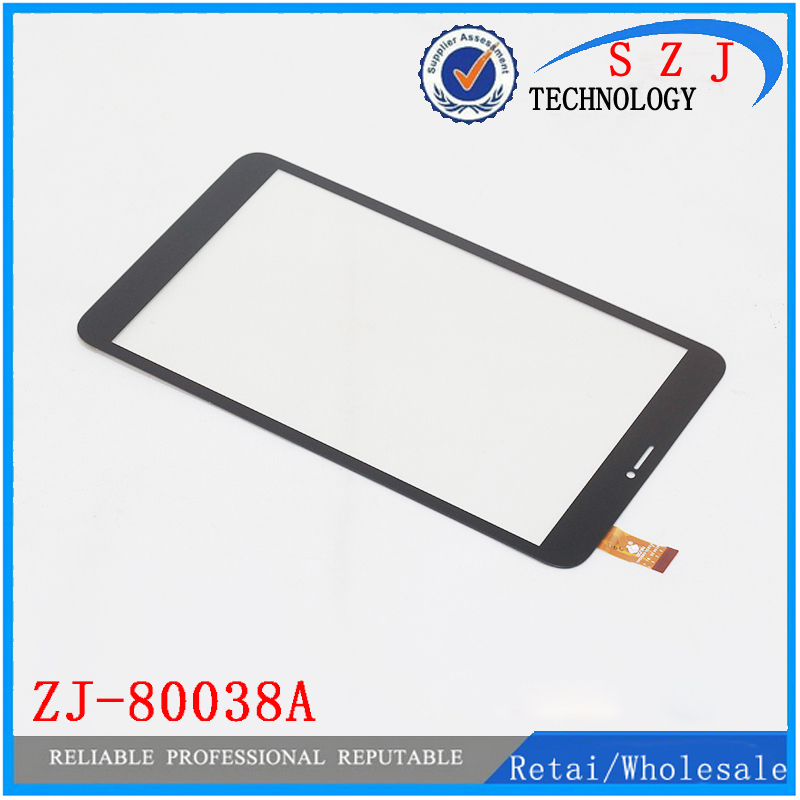 New 8 inch Tablet Touch Screen For JZ ZJ-80038A Touch Panel Digitizer Glass Sensor Replacement Free shipping 10pcs new 7 inch for mglctp 701271 touch screen digitizer glass touch panel sensor replacement free shipping
