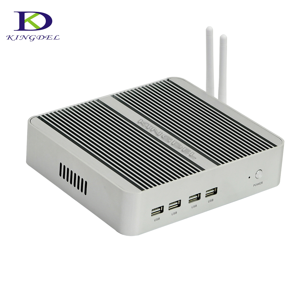 Cheapest fanless mini pc DDR4 i5 6360U Nuc Intel Iris Graphics 540 small nettop computer HTPC with HDMI VGA USB WIFI desktop pc big promotion fanless mini pc intel celeron n2830 small desktop pc usb 3 0 lan wifi 2 hdmi nettop computer htpc windows 7