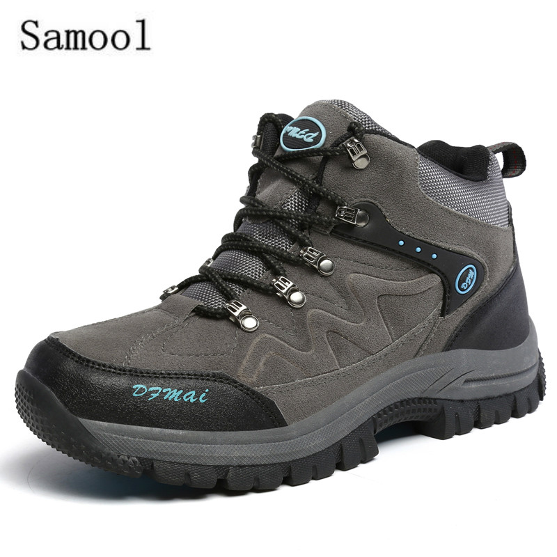 2017 Wild Shoes High Casual Shoes Country Riding Shock Climbing Shoes Desert Assault Boots Sapato Masculino Casual Shoes riding wild