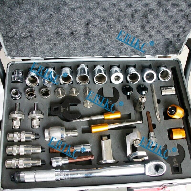 ERIKC дизельных форсунок Common Rail инструмент для ремонта Наборы собрать и разобрать Инструменты для форсунки