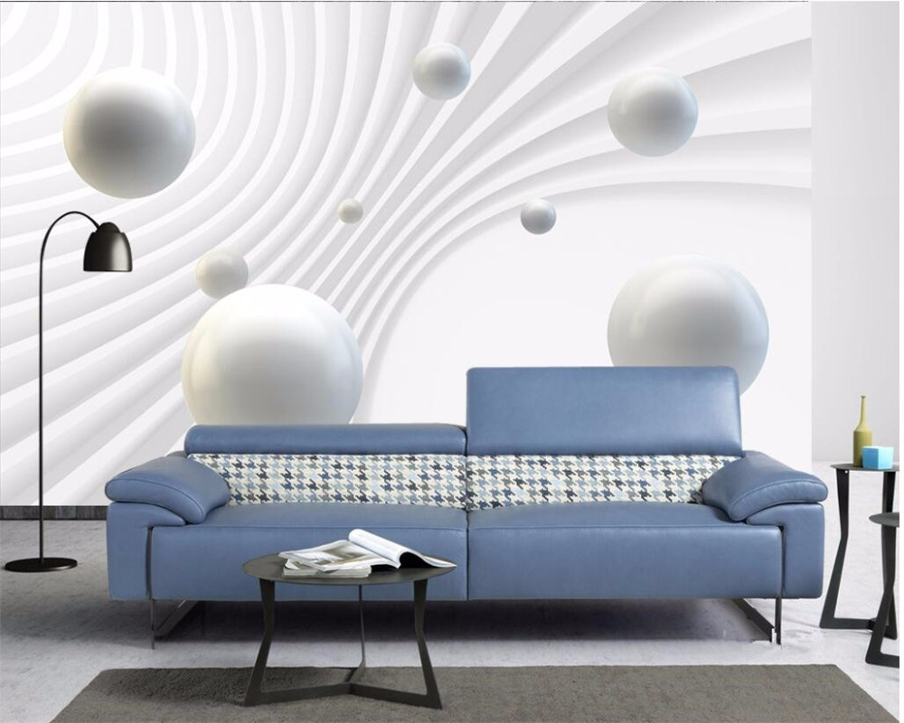 Beibehang Custom Photo Wall Mural 3d Wallpaper Luxury: Beibehang Custom Photo Wallpaper 3d Mural Stereo Ball