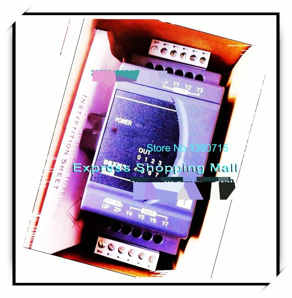 New Original DVP08XN211T Delta PLC Digital module ES2 series 8DO Transistor output dvp06xa e2 delta plc 4ai 2ao 14 bit resolution analog i o module new original