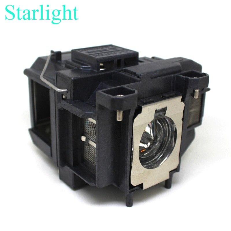 EB-S12 EX3212 1261W VS210 VS310 VS315W MG-50 MG-850HD Powerlite 1221 H432B projector lamp ELPLP67 V13H010L67 for Epson недорого