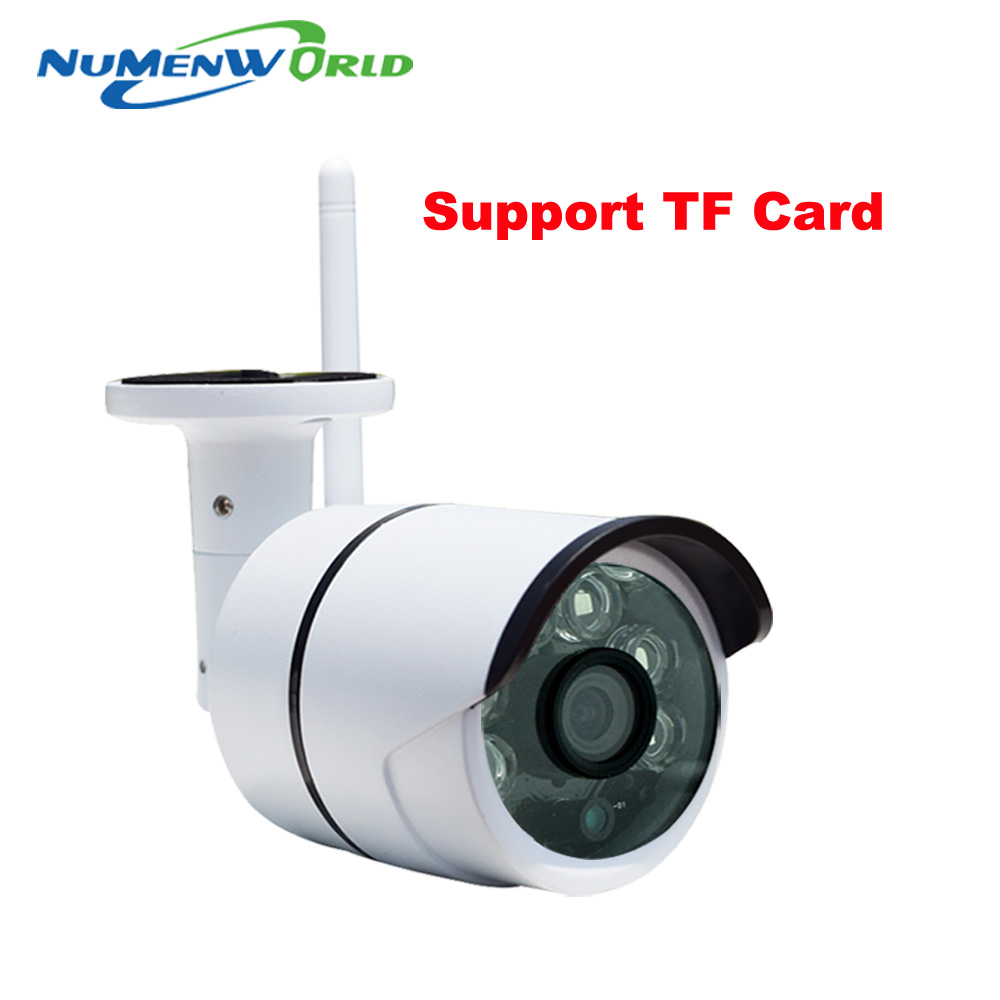 imágenes para XMeye AP cam 720 P SD HD P2P IP Inalámbrica 802.11b/g/n wifi Cámara de red IP Con Conexión de Cable IR Al Aire Libre Cámara IP A Prueba de agua