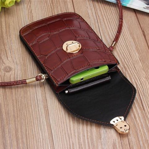 Silver Mobile Phone Mini Bags Small Clutches Shoulder Bag Crocodile Leather Women Handbag Black Clutch Purse Handbag Flap Karachi