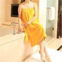 Cotton Terry Khăn Bath Robe Áo Choàng Tắm Phụ Nữ Drap De Bain Khách Sạn Thấm Lớn Màu Trắng Khăn Tắm Khăn Tắm Cho Adlts Bán Buôn QQC359