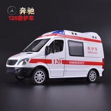 Имитационная модель автомобиля игрушки, 120 машин скорой помощи сплава модели автомобиля, Вытяните Назад автомобиль, детский игрушечный автомобиль. детям подарки
