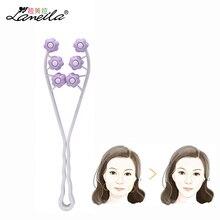 LAMEILA Face Massager Roller Flower Shape Elastic Slimming Face Roller Massager Face Lift Shaper Skin Care