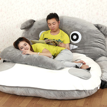 Large matelas Totoro Single and Double Bed Giant Totoro Bed Mattress Cushion Plush Mattress