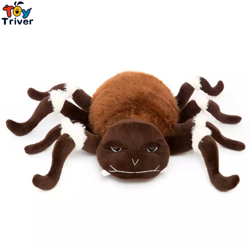 Simulation Plush Spider Toy Stuffed Animal Doll Toys Funny Creative Kids Children Gift Party Home Decoration Ornament Triver куплю боевые ножи фото и цены