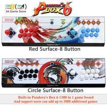 3A игра компании оригинальный Pandora's Box 6 1300 в 1 8 Кнопка Аркады консоли usb джойстик управления игровых автоматов игровой контроллер