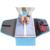 2016 Nova Viagem Acessórios de Vestuário Camisa Embalagem Organizadores de Viagens de Negócios Saco de Pasta de Negócios Organizador da Viagem Para Laços