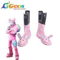 CGCOS Free Shipping Cosplay Shoes Rabbit Raider Boots Anime Game Halloween Christmas
