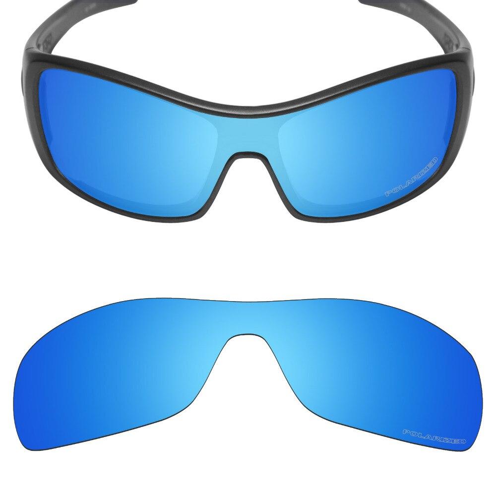 3d8e72237e3f3 Mryok+ POLARIZED Resist SeaWater Replacement Lenses for Oakley Antix  Sunglasses Ice Blue image