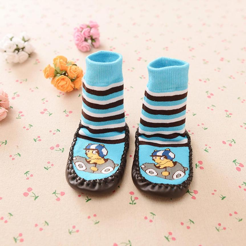 Children Socks Anti Slip Baby Socks With Rubber Soles New Born Baby Clothes Newborn Winter Wear Kids Socks Calcetines Great
