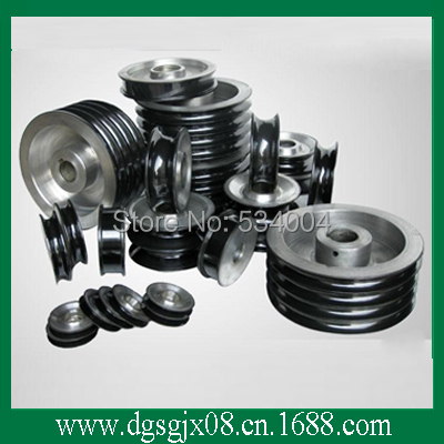 wire cable guide pulley chrome oxide plated steel wire guide pulley for wire industry
