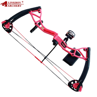 Holiday gift Archery 4 Color 10 20 Lbs Children Compound Bow Draw Length 17 26inches for Children Arrows Shooting Exercise