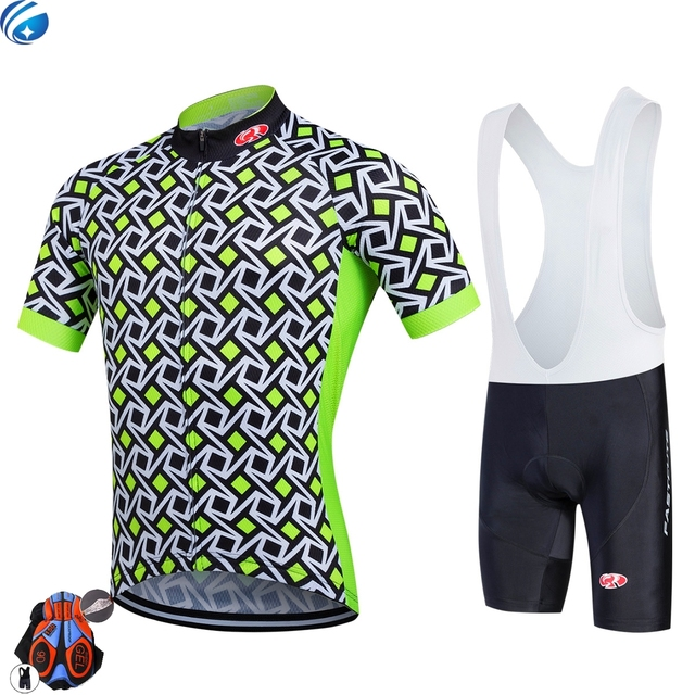 Brand New Fastcute Summer Cycling Jersey set Maillot Ropa Ciclismo Bicycle  Clothing MTB Bike Uniform With Cycling Bib Shorts b143ac7bf