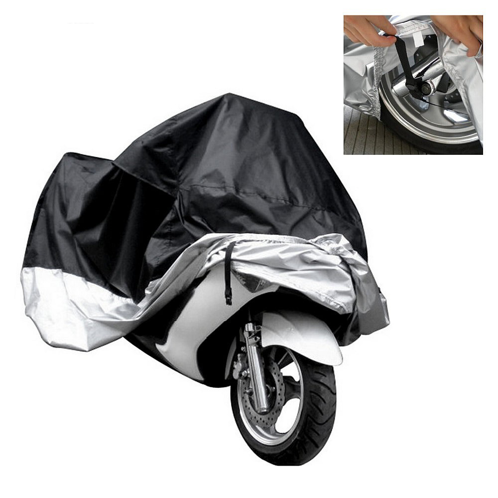 Motorcycle Hood Rain Cover Waterproof Outdoor Uv Protector Bike Rain Dustproof Motorbike Motor Moped Scooter Cover M~4XL