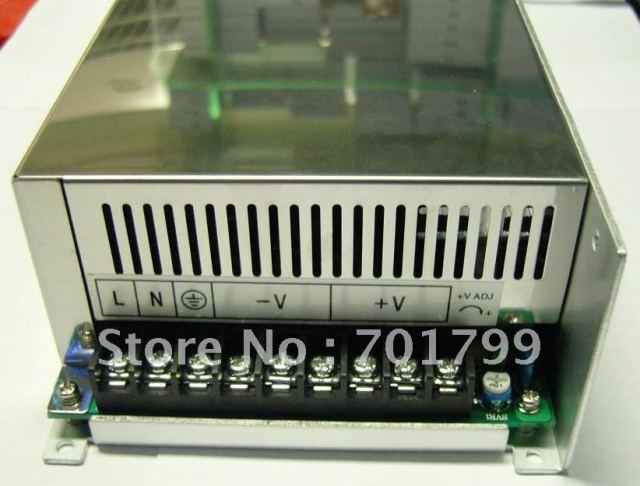 12V/24V/48V/600W switch mode power supply,size;238*124*65mm,led driver,led power supply