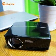 Gigxon-G88 Proyector 1080 P LLEVÓ el Proyector 1800 Lúmenes 800*480 Píxeles con HDMI VGA AV USB para laptop