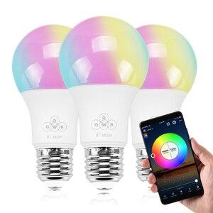 4.5W E27 LED Bulb RGB+Warm whi