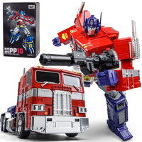 Wei Jiang MPP10 Transformation Kids Toy Anime Figure OP G1 Commander Matel Model Deforming Truck Captain Kids Action Figure Toys