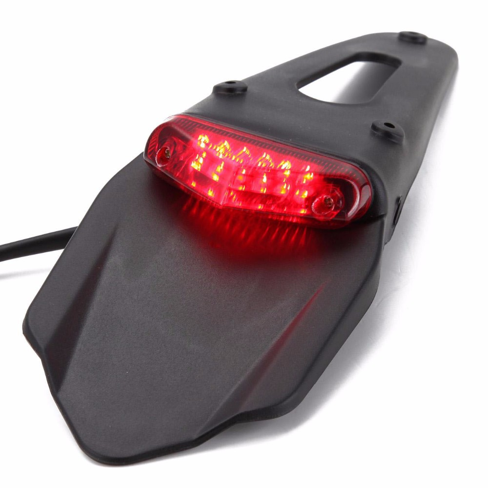 Polisport Motorcycle LED Tail Light&Rear Fender Stop Enduro Taillight MX Trail Supermoto KTM CR EXC WRF 250 400 426 450