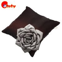 36 36cm Vintage 3D Flower Pillow Home Decorative Sofa Cushion High End PP Cotton Stuffed Plush