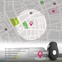 Multifunctional GPS Mini GPS Tracker Locator SOS Alarm for Kids Elder Pet Cat Dog Car Vehicle Personal Security Alarm EU Plug