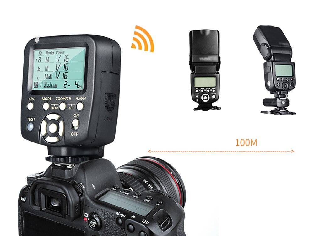 Yongnuo 1 x YN560TX LCD Bezdrátový bleskový ovladač + 2 x YN560 - Videokamery a fotoaparáty - Fotografie 2