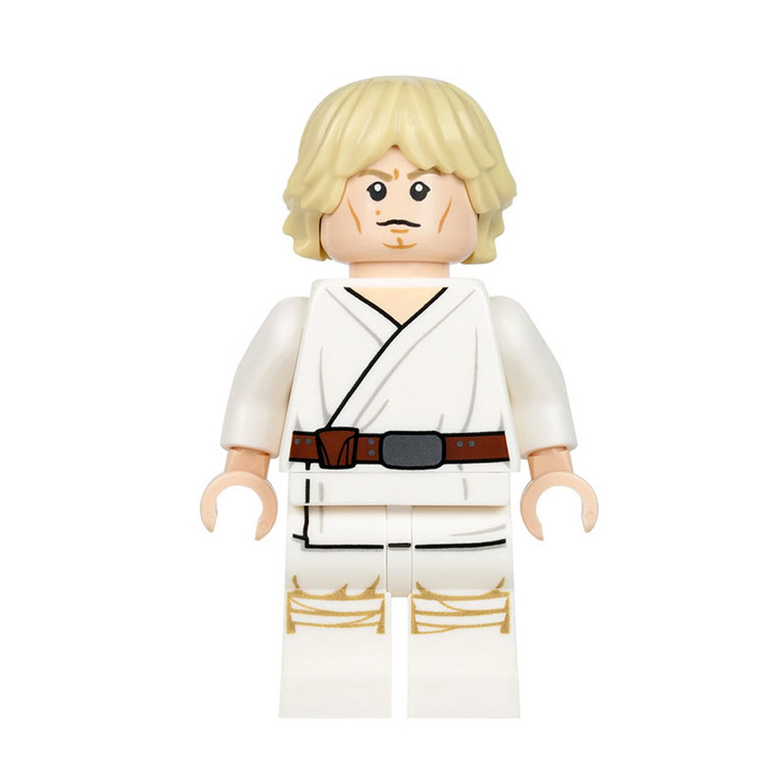 Single Sale Super Heroes Star Wars Luke Skywalker Starwars Jedi Knight Bricks Building Blocks Collection font