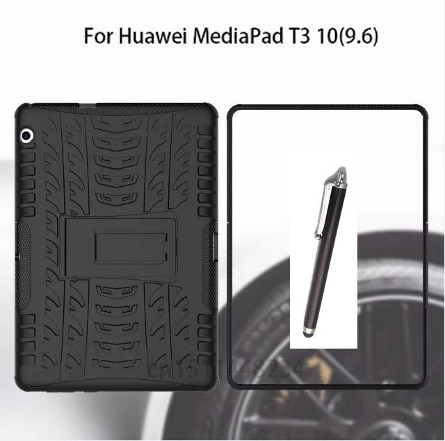 shockproof Heavy Duty Impact Hybrid Armor Kick stand Hard case For Huawei MediaPad T3 10 AGS-L09 AGS-L03 9.6 inch child cover